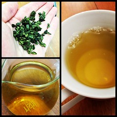 Huang Jin Bolero (oolong tea) (zahikanaan) Tags: square tea lofi squareformat oolong iphoneography instagramapp uploaded:by=instagram