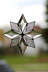 16/52 in 2013 Glass on Glass (lorainedicerbo) Tags: window glass star decoration stainedglass theme 1652in2013