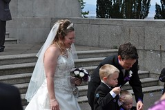 Bubbles for the boys (bryanpage) Tags: flowers wedding tiara children groom bride harrison veil dress steps bubbles blowing zachary bouquet weddingdress bridegroom harrisonhendrixpage harrisonpage bryanpage williamsonpark ashtonmemorial michellepage zacharyzebastianpage zacharypage