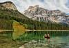 Emerald Lake Clarity (Jeff Clow) Tags: vacation lake canada nature landscape kayak getaway canoe emeraldlake yohonationalpark tpslandscape