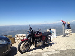 Mont Ventoux (Play Out Right Now) Tags: france frankreich tour triumph provence bonneville 2012 hinckley montventoux motoradtour
