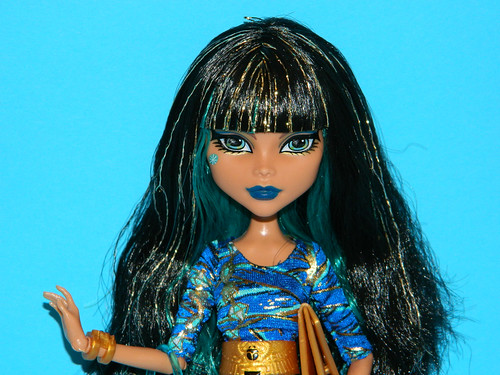 Cleo de nile face monster high cleo de nile