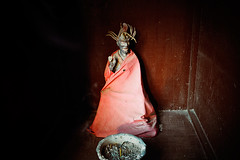 Daoist Deity (Leonid Plotkin) Tags: china religious asia god traditional religion sacred tradition dao tao daoist deity taoism shaanxi huashan daoism holymountain sacredmountain