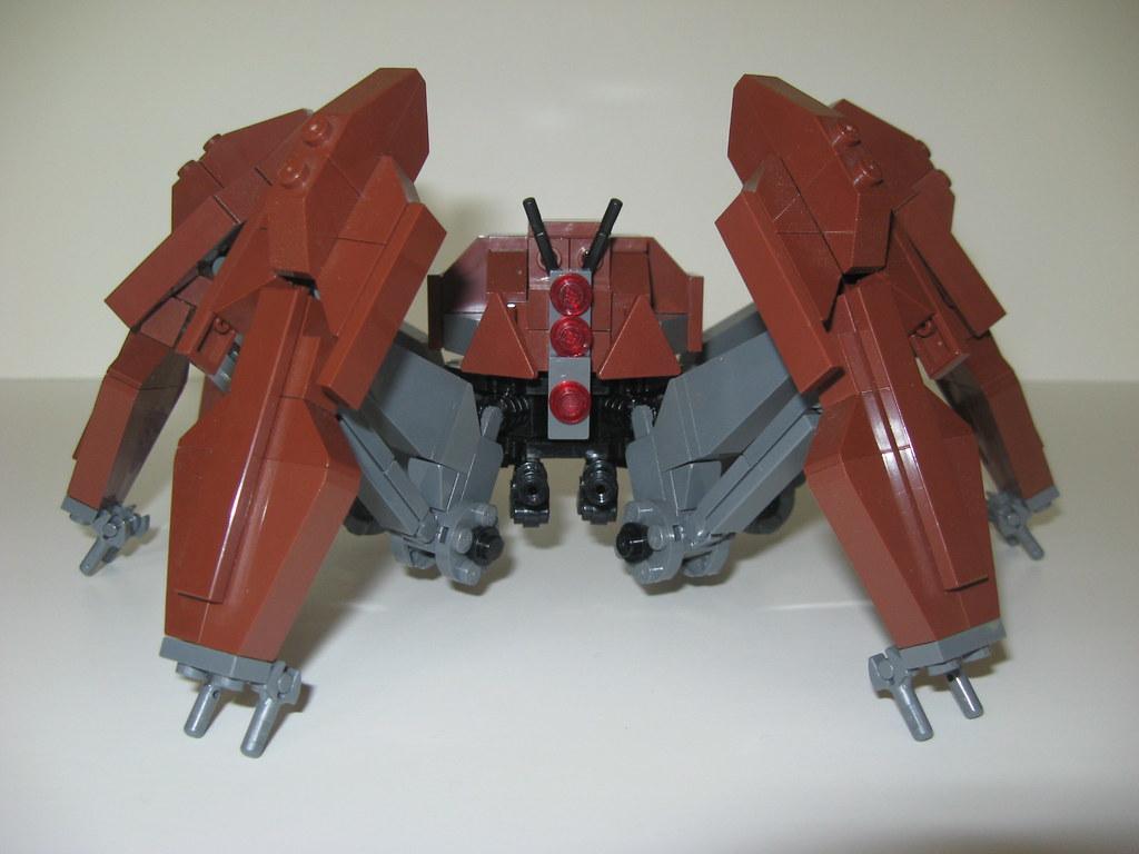 lego crab droid instructions