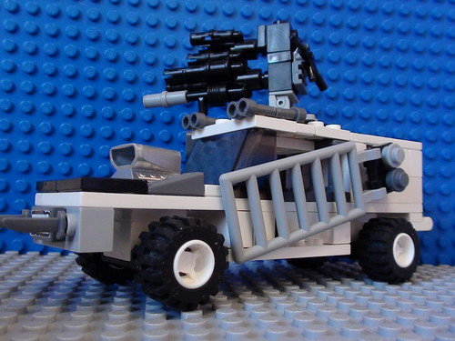 lego post-apoc car