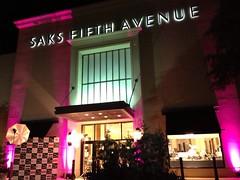 Pink Lighting - Architectural Lighting - Saks Fifth Avenue