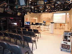 Broadcast Tour 2013 Ostrava (DISK TV) Tags: design pro hitachi jvc newtek blackmagic tricaster disksystems minicaster
