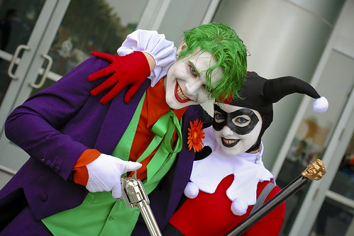 Wonder-con 2013: Joker and Harley Quin