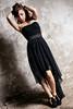 Martina Polopoli n.9 (Riccardo Mollo) Tags: black muro girl wall model dress nero ragazza collana modella vestito necklance