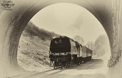 Wadebridge entering Barnston Tunnel on GCR (Pete Withers) Tags: