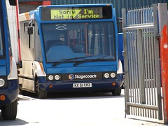 Stagecoach North West Optare Solo 47003 KX51 CRZ now with Stagecoach East Scotland (nsf323) Tags: 47003 stagecoachnorthwest kx51crz stagecoachscotlandeast fleetwoodoutstation