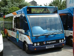 Stagecoach North West Optare Solo 47024 PO51 WLR branded for route 84 now up in Cumbria (nsf323) Tags: stagecoachnorthwest fleetwoodoutstation