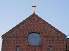 Monastery Chapel Roof (jannetie) Tags: park railroad trees sunset red brick green water train reflections garden newjersey twilight cross pennsylvania bricks wroughtiron traintracks lawn bank trains stainedglass nuns monastery smokestack crucifix tugboat slate convent barge stmaryschurch redoak hilltop roadwork brickwork churchst mercercounty delawareriver flemishbond yachtclub railroadtracks barges methodistchurch paddlewheeler railroadtrestle assistedliving slateroof presbyterianchurch etchedglass crosswickscreek burlingtoncounty pennsylvaniarailroad trentonnj duckisland stmarysschool firehousegallery seniorliving bordentownnj poorclare lockkeepershouse englishbond poorclares burlingtonst delawareandraritancanal farmersandmechanics farnsworthave firstlock yapewiaquaticclub farnsworthavenue appshardware theclareestate boatclubhouses juanitacrosby crosswicksstreet theclareestates