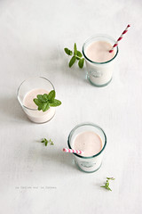 milkshake063 (la cerise sur le gteau) Tags: food cooking fruits breakfast milk vegan healthy drink brunch milkshake