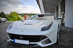Ferrari F12berlinetta (Kevin-A.) Tags: auto camera italien light red italy horse blur color colour building cars sports car sport sedan germany deutschland lights design photo italian focus image bokeh d rear laut picture engine fast grand super ferrari explore exotic sound gran motor local autos teuer 5000 expensive turismo rosso loud bianco coupe exclusive gebude rheinland rhineland pfalz kamera coup maranello dealer corsa f12 pininfarina v12 designed tourer berlinetta schnell sportwagen hndler palatinate rcklichter explored sportscoup d5000 f12berlinetta italenische