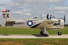 North American T-28 Trojan (iamsam2407) Tags: world 2 museum ball james war texas jan smoke north flight jet american micro bond randy cornell mustang 300 trojan miss warbirds fairchild extra hind texan mil radial t6 p51 cavanaugh bede t28 yak52 pt19 mig17 cj6 bd5 mi24 collmer aerobactics phylers