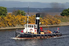 Steam tug 'Kerne' at Eastham 21st May 2013 (John Eyres) Tags: manchester canal dock ship steam tug weaver canning eastham kerne