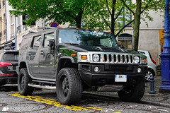 Hummer H2 (Alexandre Prvot) Tags: auto france cars car sport automobile european parking transport automotive voiture route exotic nancy lorraine 54 supercar luxe berline exotics supercars ges 54000 dplacement worldcars grandestsupercars