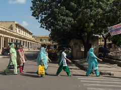 """Abbey Road"" the Indian way (karina robin travel photography) Tags: street woman india robin women asia oriental jaipur karina rajasthan"