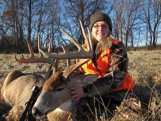 Kansas Trophy Whitetail Bow Hunt 47