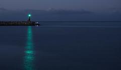 CMBR-1 (Jordi Mata) Tags: amarilla mar faro azul verde puerto catalunya cambrils port far