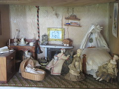 204:365, 2016, The bedroom IMG_3074 (tomylees) Tags: colchester essex project 365 hollytrees museum july 22nd dolls house 2016 friday