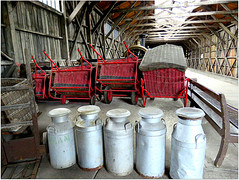 And you thought milk came from cows! :0p (The Stig 2009) Tags: milk churn churns steam train station thestig2009 thestig stig 2009 2016 tony o tonyo dicot museum