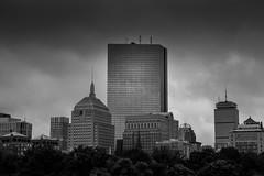 I think I'll go to Boston (abovecloud7) Tags: boston hancock black white blackandwhite bostoncommons bostoncommon city skyline urban dark massachusetts