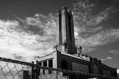 The Old, Abandoned Steam Plant (psinderbrand) Tags: asburypark boardwalk newjersey steamplant