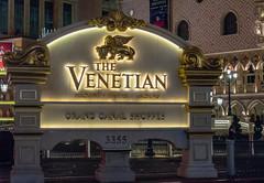 The Venetian, Las Vegas (Anthony's Olympus Adventures) Tags: hotel casino complex building night lasvegas lasvegaslandmarks lasvegasstrip venetian nightime dark lights highiso olympusem10 omd microfourthirds las vegas lasvegassightseeing resort usa america venice design