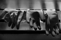 hang it up (Edu Alawi) Tags: blackandwhite bw blackwhite gloves cebu philippines daily