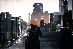Watch (cara zimmerman) Tags: indianapolis self selfie doubleexposure city downtown sunset