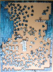 Ghosts in the Moonlight - Snow Leopards (Larry Fanning) (Leonisha) Tags: puzzle jigsawpuzzle un