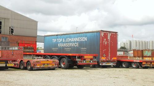 Container im Hafen von Esbjerg, Dänemark  (5)