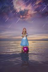 Lacus Clyne (bdrc) Tags: asdgraphy photo manipulation edit gundam seed anime cosplay girl portrait sunset sea beach cloud water outdoor avani sepang landscape sony a6000 tokina 1116 ultrawide bella