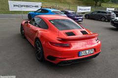 Porsche 911 Turbo S (Patrick2703) Tags: porsche 911 turbo s 9912 lava orange redbullring spielberg austria cars worldcars supercars