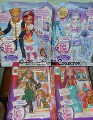 Ever After High Haul (DisneyBarbieCollector) Tags: mattel ever after high eah meeshell mermaid jillian beanstalk crystal winter daring charming rosabella beauty epic dolls toys