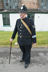 1940's Police Officer (masimage) Tags: hootonpark hooton park 1940s weekend 2016 wartime ww2 wwii soldier army navy raf usarmy jive dance thevictorygirls victorygirls victory girls belladonnabrigade belldonna brigade singers ensa vintage britain 40s reenactment reenactor