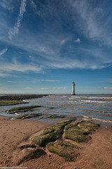 Meols and Perch Rock (2 of 4) (andyyoung37) Tags: lighthouse newbrighton perchrocklighthouse uk bluesky thewirral wallasey england unitedkingdom gb