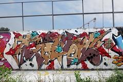 Royal (Walls of Belgrade) Tags: belgrade beograd streetart serbia spraypaint graffiti wall tramline royal