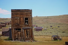 lean on me (Karol Franks) Tags: bodie ghost town abandoned buildings mining california state historical park vintage old wooden ca