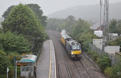 68016 at Pencoed. 28/9/16 (Nick Wilcock) Tags: railways wales class68 vossloh drs directrailservices testtrain 1q16 landore derby rtc pencoed 68016 fearless