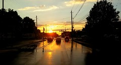 Olden Ave Post Storm (Tim Loesch) Tags: shootngwhiledriving nj mercercounty