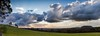 Brewing Storm Over Mount Franklin (Russell Lucas : Real landscapes with natural light) Tags: clouds landscape mountfranklin panograph storm sunrays winter