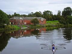 CARC (Bricheno) Tags: clydeamateurrowingclub glasgow bricheno glasgowgreen river clyde riverclyde rowers club reflections canoe scotland escocia schottland cosse scozia esccia szkocja scoia