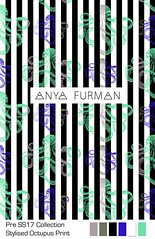Anya_Furman_Octopus (Anya Furman) Tags: pre ss17 collectionpurple bananas fabricdesign textiledesign anyafurman fabric fashiontextilecollection freelancetextyledesigner texiledesigner milanodesign fashiontrend pattern patterndesign purple theanyafurman fabricdesignlabmamber patternobserver strypes stripes octopus rose black white textilepattern trendy fashiontrends seahorse green aqua apois circles geometrical conversational