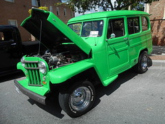 1956 Willys Wagon (splattergraphics) Tags: 1956 willys wagon stationwagon jeep carshow charlestownwv