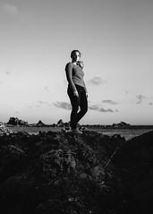 A little bit of practice (Shannon Doyle - Digital Ninja Design) Tags: blackwhite wellington southcoast photopractice portraits canon6d sigmaart 35mm islandbay
