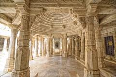 Jain Temple, Ranakpur (Nitya...) Tags: d750 nikon raw rajasthan tourism udaipur ranakpur jaintemple architecture mandir india jain column pillar stone structure