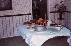 The Thanksgiving Table - c1985 (kimstrezz) Tags: 1985 thanksgiving thanksgiving1985